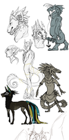 Wow Sketchdump by Stitchy-Face