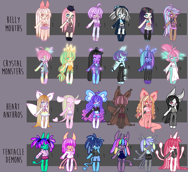 Large Adopt Sheet | PRICE REDUCTION by Pocky-Babe