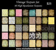 vintage texture set 12 by chupla