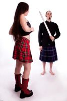 Mess with the kilt guy IV by Santian69