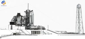 NASA Launch Complex 39A by Gandoza