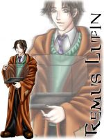 - Remus Lupin - by mirime