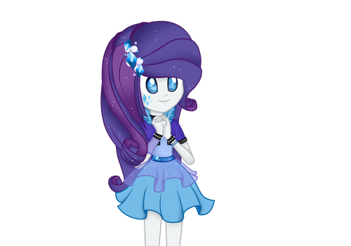 Rarity's New Dress :3 by tailinr1lolnew