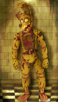 I AM MACHINE - SpringTrap by Choco-Floof