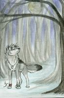 ACEO-Lonely Woods by itsmar