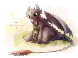 How To Train Your Dragon by FLAFLY