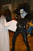 Ryuk and Sadako at Cos and Effect 2012 by danSquare