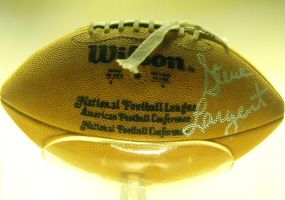 Steve Largent's Football by Photos-By-Michelle