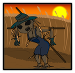 Scarlet, The Scarecrow Girl by Sageroot