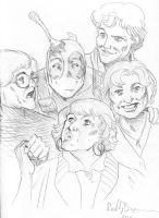 Deadpool and the Golden Girls by ReillyBrown
