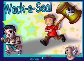 Wack-a-Seal by wk-omittchi