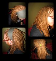 Red-Hair-Dreads Time by MaLiBuDreaD