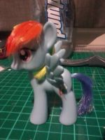 MLP:FiM Rainbow Dash Toy with Restyled Hair by x0xChelseax0x
