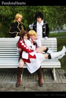 Pandora Hearts Cosplay II by sheiku92