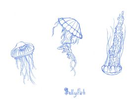 Jellyfish.... by KrazyKell