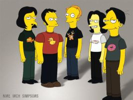 nine inch simpsons I by doridoreau