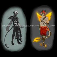 Demon Adopt Auction [ENDED] by Megane--Sama