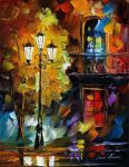 Light of love by Leonid Afremov by Leonidafremov