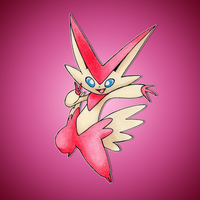 Mega Victini by FakeMakeT