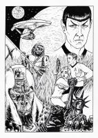 StarTrek Vs Planet Of The Apes by The-Savage-Ape-Man