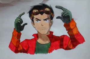 Generator Rex by LilianaDreams