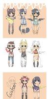 .:Huge Adopt Set:. { closed } by curled-mustache
