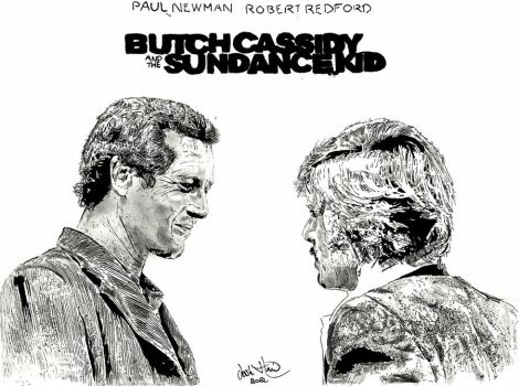 Butch And Sundance by Tullus-Aufidius