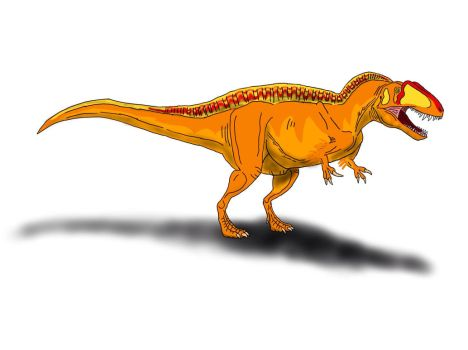 Acrocanthosaurus atokensis by TrefRex