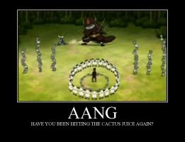 Aang motivator by beegee12