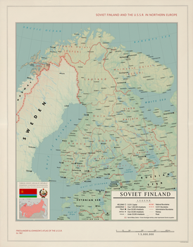 Soviet Finland 1967 (Alternative Cold War) by Kuusinen