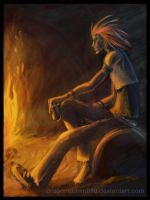 Fireworks of Fate: Axel by Dragonqueen890