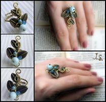 Ring Garden of emir of Bukhara by JSjewelry