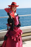 Madame Red - At the Sea by AlexisKami