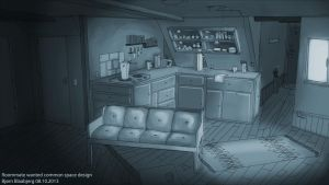 Roommate wanted common space concept 4 by Captainfusion