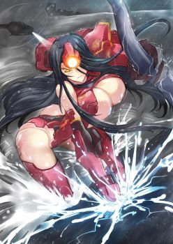 JAEGIRL Crimson Typhoon by haganef