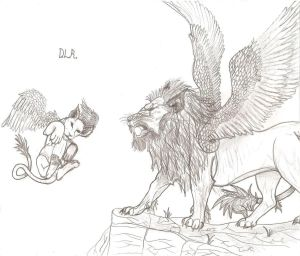Winged Lions