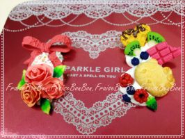 Pink Lolita Decoden - Stationary Box B by Fraise-Bonbon