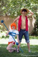 Orange Nami ~ One Piece 4 by SinnocentCosplay