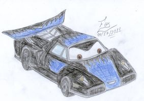 My Cars OC by FoxBluereaver