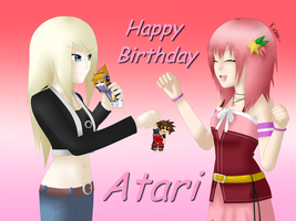 Happy (late) Birthday SorataMae!! by TemmieVega1999