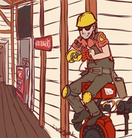 tf2 - killin' time by drink-to-bones