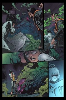 INHUMAN BOOK 1 PAGE 14 COLOR by Zimprich