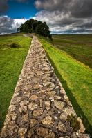 Hadrian's Wall by Yupa