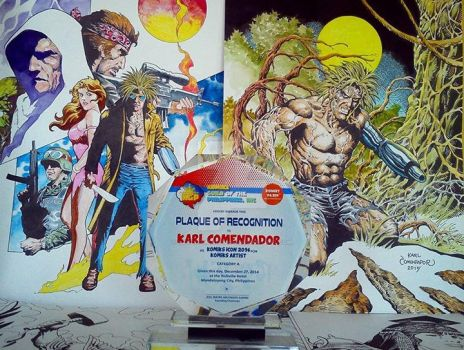 KGP Komiks Icon Award by karlcomendador