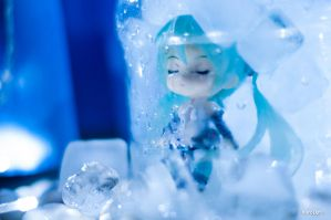 Lair of Ice Queen by KuroDot