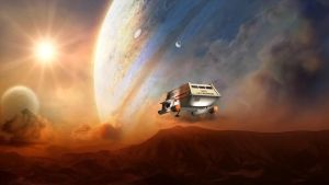 Galileo leaving jupiter airspace by PUFFINSTUDIOS