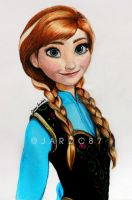 Princess Anna Of Arendelle by jardc87
