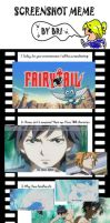 Screenshoot Meme Fairy Tail by Aurumis