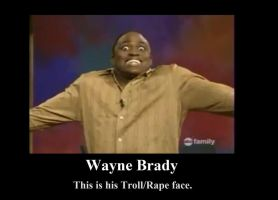 Wayne Brady Demotivator by BelleSura