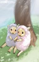 sheep sheep sheep sheep by DrBokChoi